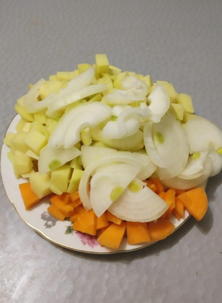 Фото рецепта - Горчичное рагу из говядины - шаг 2