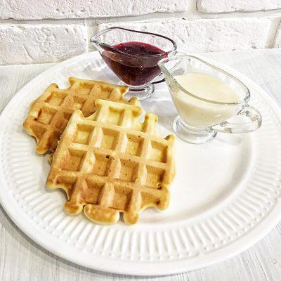 Ароматные венские вафли в электровафельнице - рецепт с фото