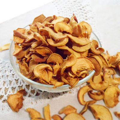 Сушеные яблоки - рецепт с фото
