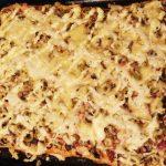 Пицца «Любимая» с колбаской и шампиньонами