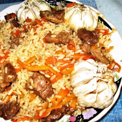 Плов по-таджикски, с дымком - рецепт с фото
