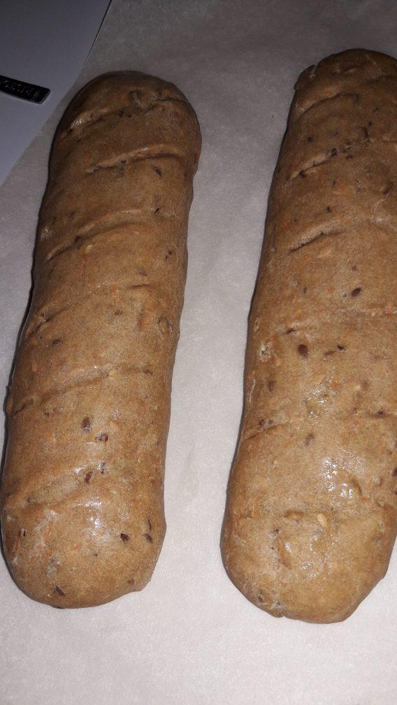 Фото рецепта - Фитнес хлебцы диетические - шаг 4
