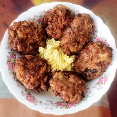 Котлеты студенческие из фарша свинины-говядины - рецепт с фото