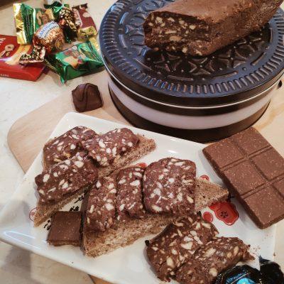 Шоколадная колбаса — ПП рецепт - рецепт с фото
