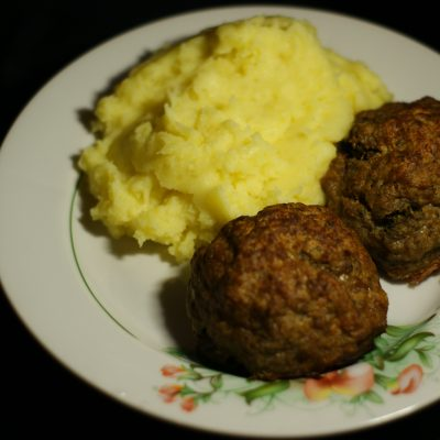 Фото рецепта - Свиные зразы со стручковой фасолью - шаг 9