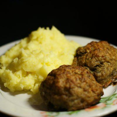 Свиные зразы со стручковой фасолью - рецепт с фото