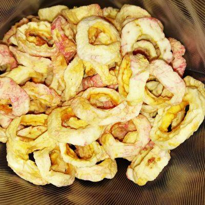 Яблоки сушеные в электросушилке - рецепт с фото