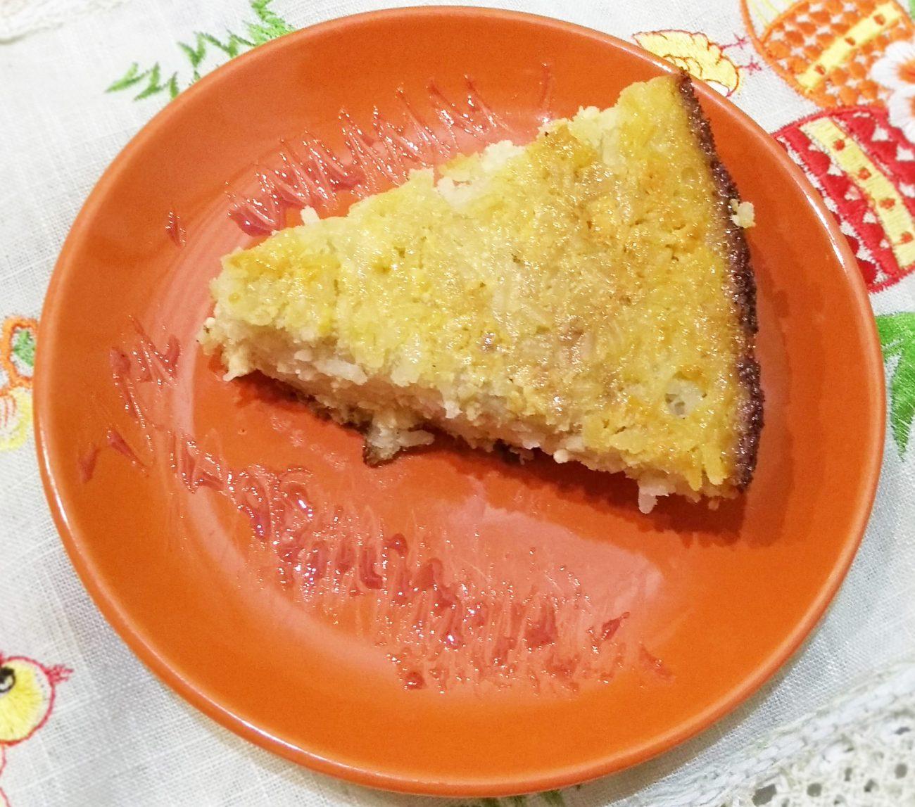 Нежный тыквенно-банановый тарт