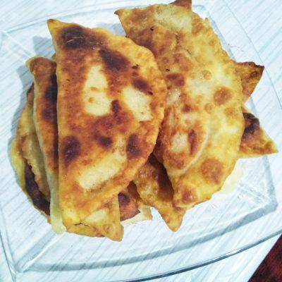 Чебуреки с мясом на водочке и кефире - рецепт с фото