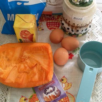Фото рецепта - Нежный тыквенно-банановый тарт - шаг 1
