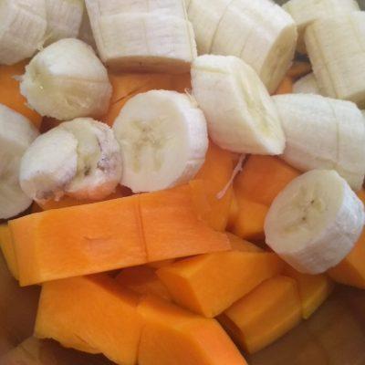 Фото рецепта - Нежный тыквенно-банановый тарт - шаг 7