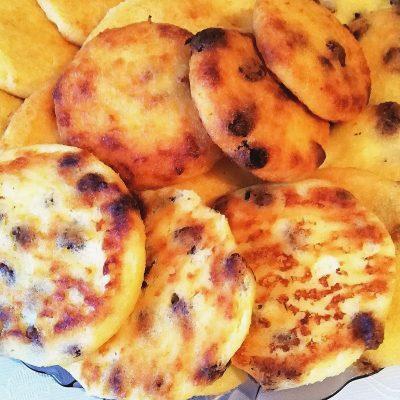 Апельсиновые сырники без муки в духовке - рецепт с фото