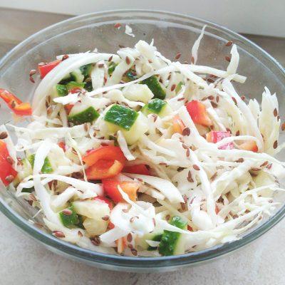 Витаминный капустный салат без соли - рецепт с фото
