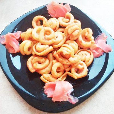 Быстрая паста под томатно-сырным соусом - рецепт с фото