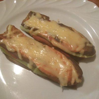 Фото рецепта - Баклажанно-кабачковые сэндвичи с сыром - шаг 8
