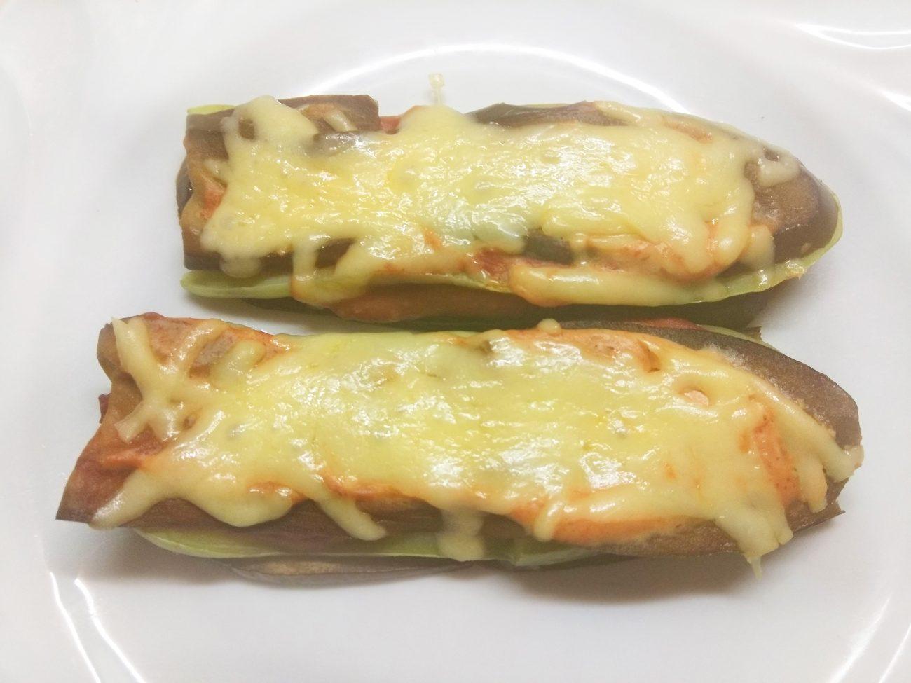 Баклажанно-кабачковые сэндвичи с сыром