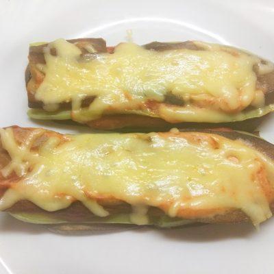 Баклажанно-кабачковые сэндвичи с сыром - рецепт с фото