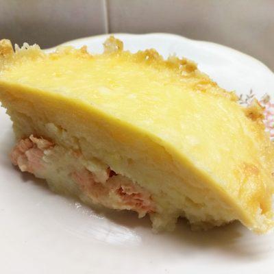 Запеканка картофельно-рыбная под сыром - рецепт с фото