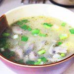 Нежный весенний суп с вешенками и овощами