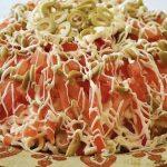 Праздничный салат «Веселая маркиза» с ветчиной и овощами