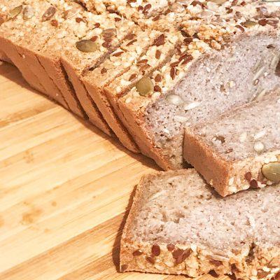 Хлеб из зеленой гречки - рецепт с фото