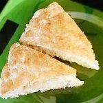Сконы на завтрак (сырный пирог с курицей)