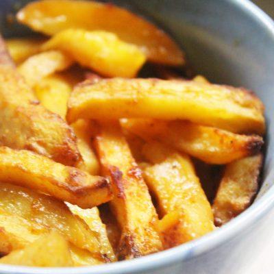 Хрустящая картошка в духовке - рецепт с фото