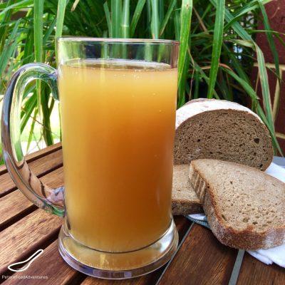Квас из ржаного хлеба - рецепт с фото
