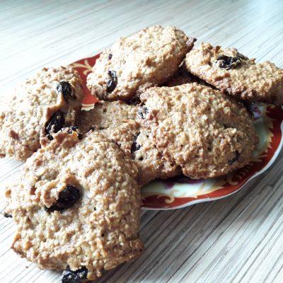 Печенье «5 злаков» с фруктами - рецепт с фото