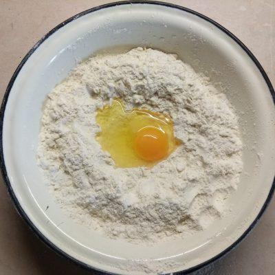 Фото рецепта - Торт слоеный со смородиновым курдом - шаг 1