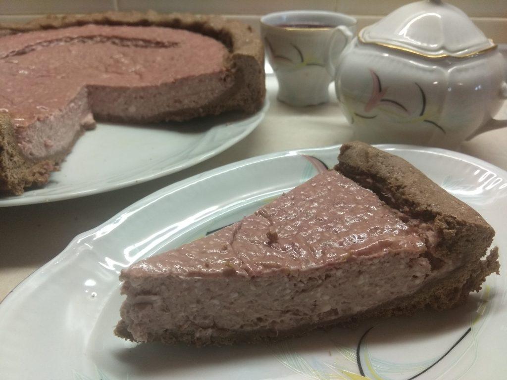 Фото рецепта - Открытый пирог с бананом и малиной - шаг 6