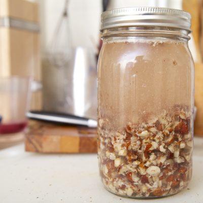 Лечебная настойка из лесного ореха - рецепт с фото